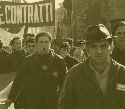 anni '70 | Manifestazione sindacale